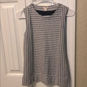 J Crew Striped Tank Top Size XXSmall